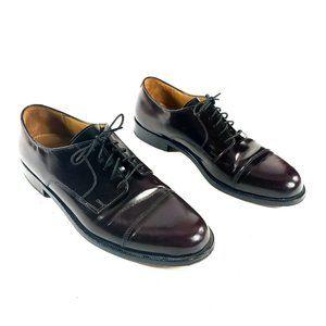 Cole Haan Derby Oxford Shoes Cherry Dark Cap Toe
